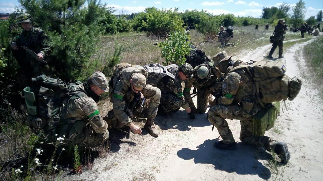Навчань сил територіальної оборони «Рух100 Злива»