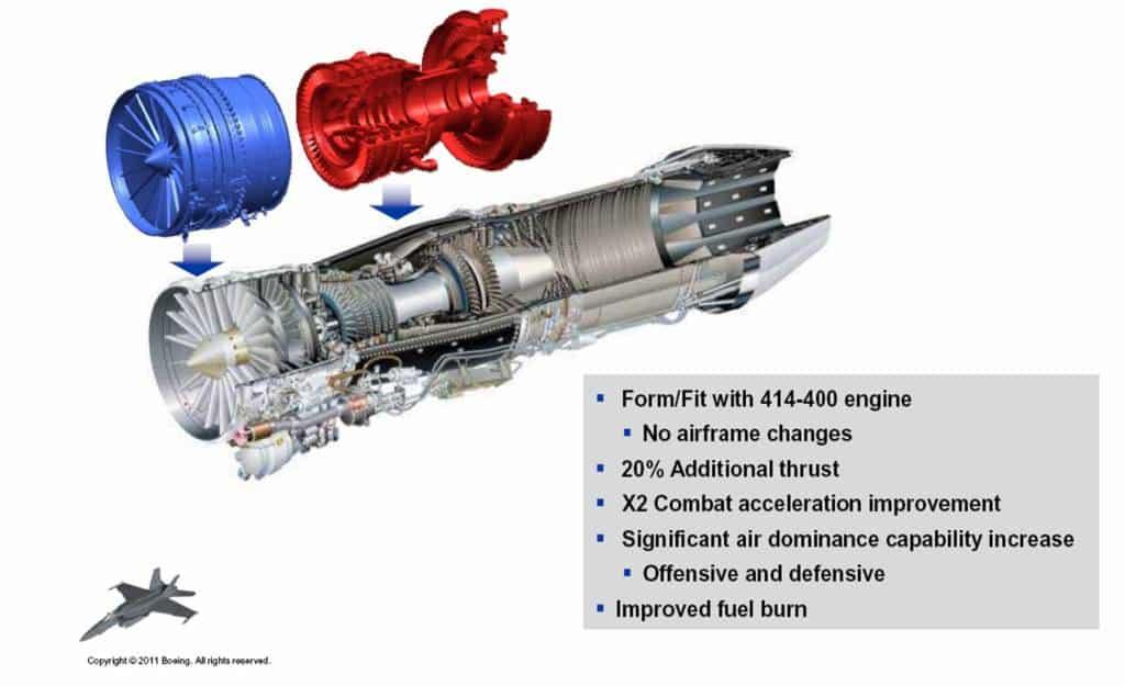 Новий двигун для FA-18 підвищеної потужності