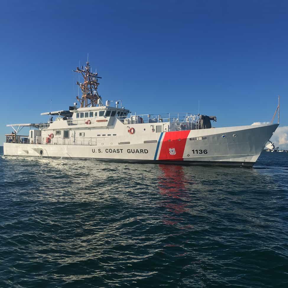 Берегова охорона США поповнилась 36-м катером FRC