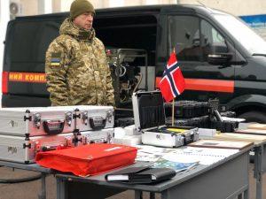 Норвегія передала спецобладнання українським прикордонникам