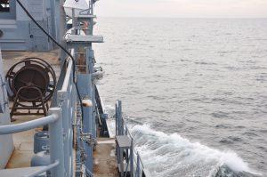 «Лагуна» вперше вийшла в море