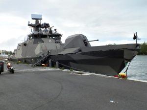 ВМС Фінляндії отримали модернізований ракетний катер Tornio