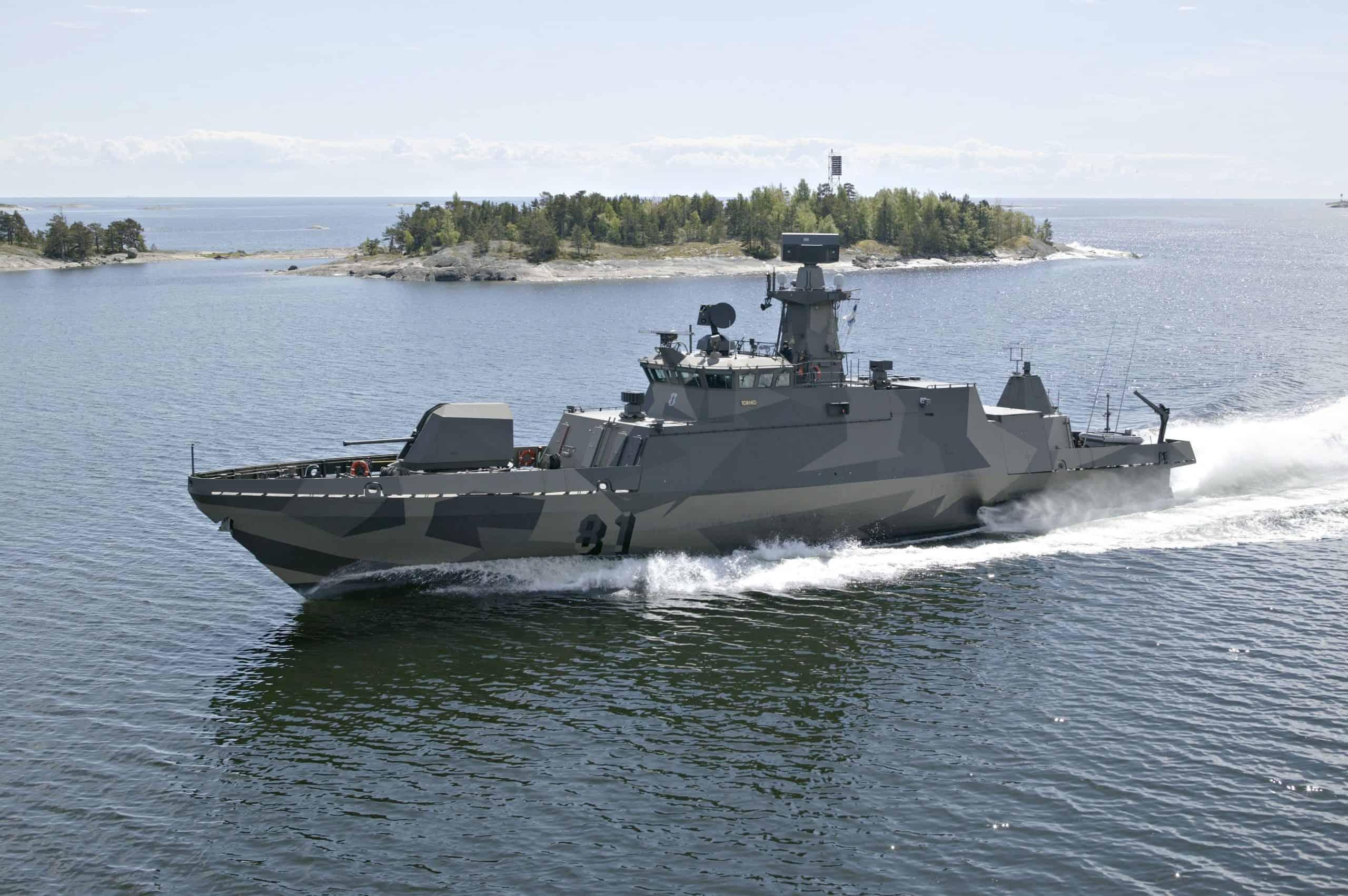 Ракетний катер FNS Tornio (81) ВМС Фінляндії