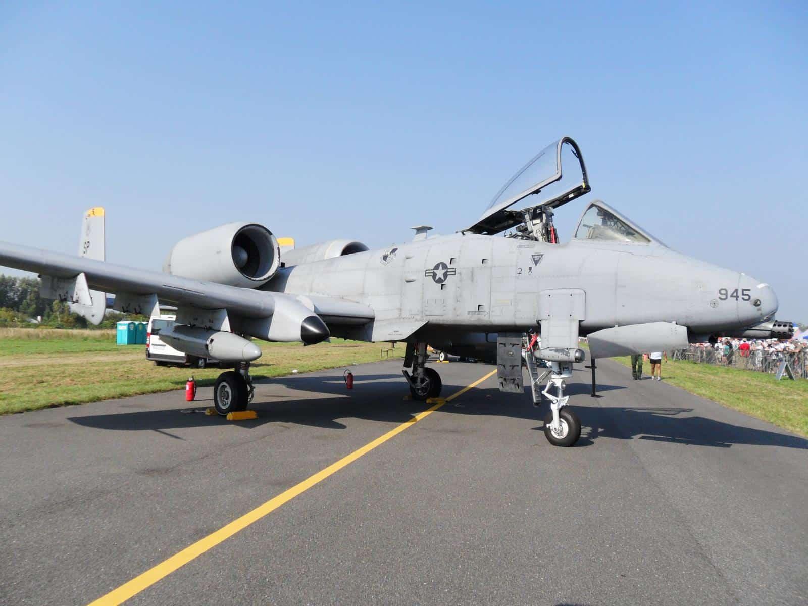 Штурмовик A-10C Thunderbolt II