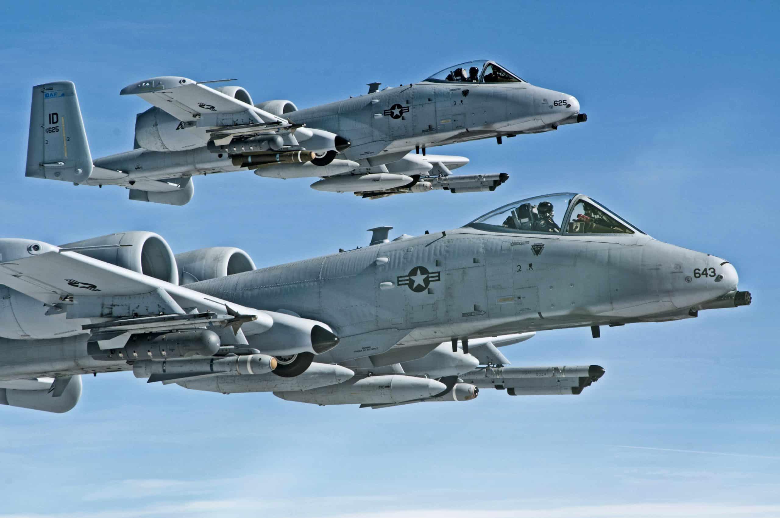Штурмовики A-10C Thunderbolt II