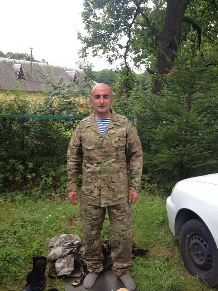 Солдат Степанишин Валерій Віталійович