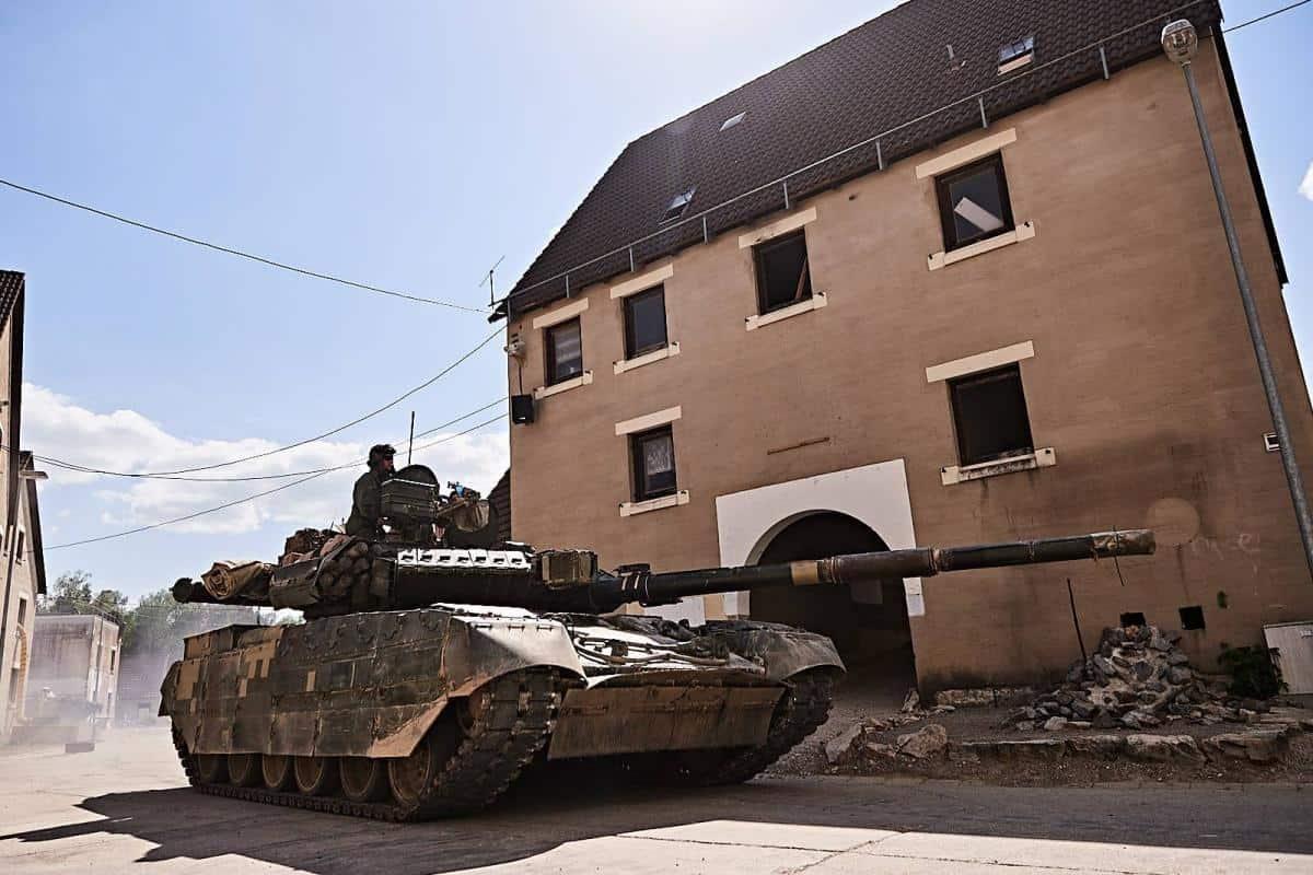 Т-84У в Німеччині