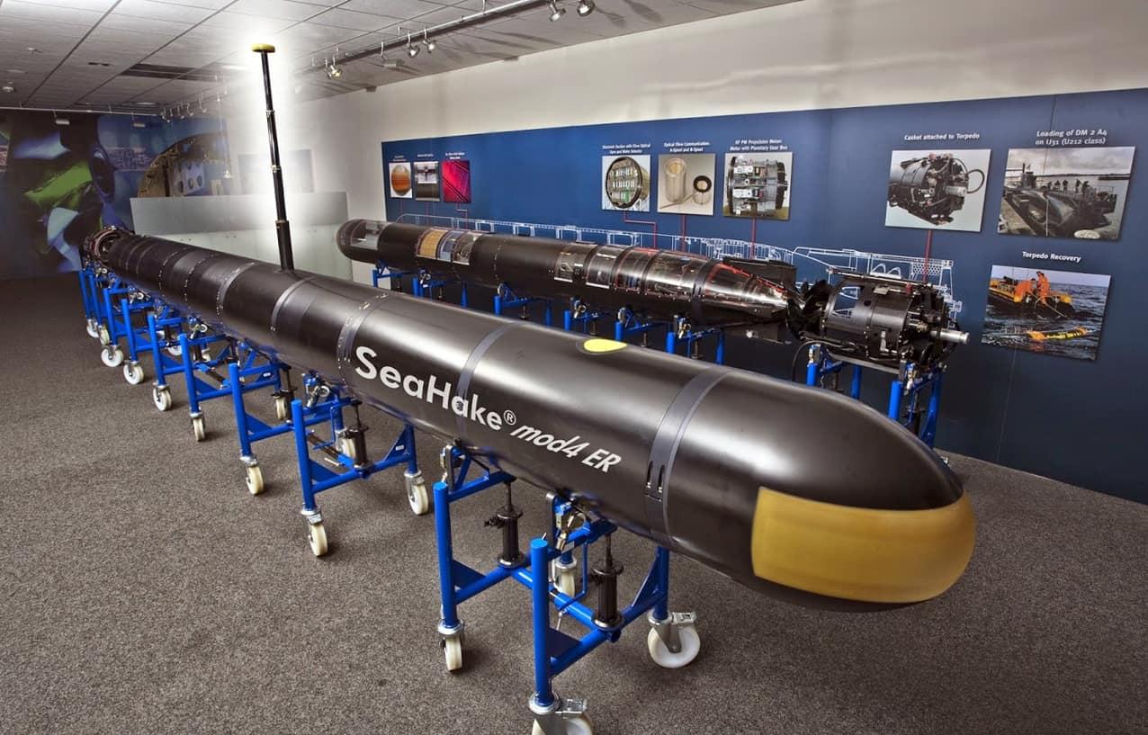 Торпеда SeaHake mod 4