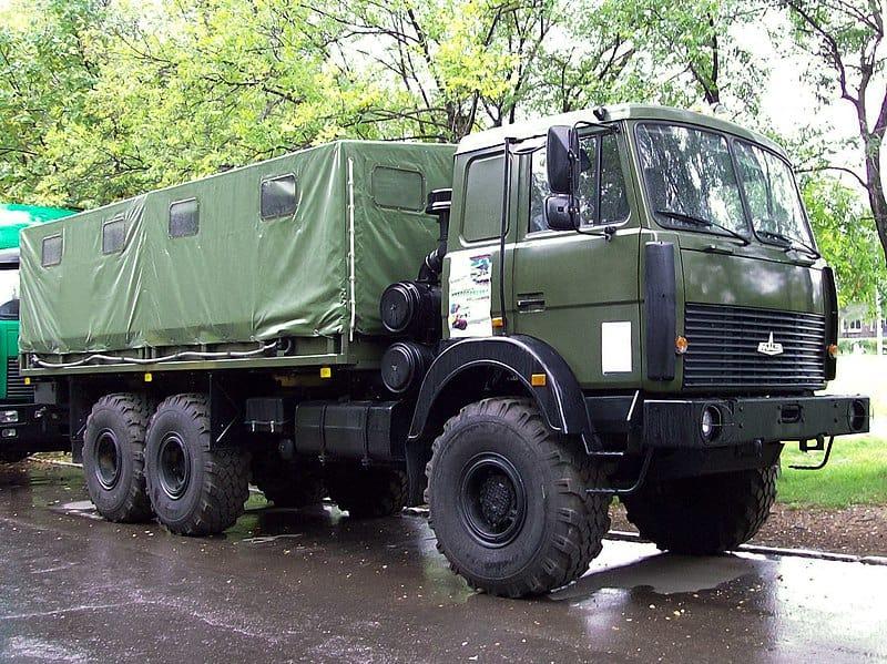 Вантажний автомобіль МАЗ-6317