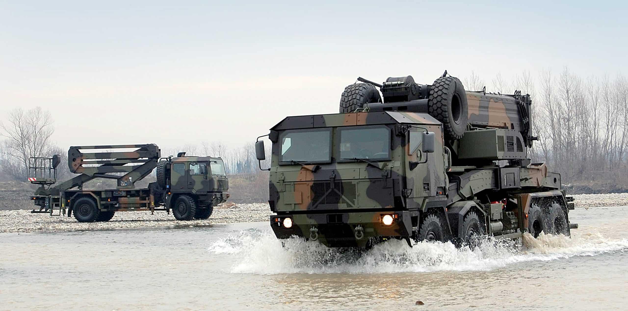 Iveco поставить майже 1000 вантажівок для армії Румунії