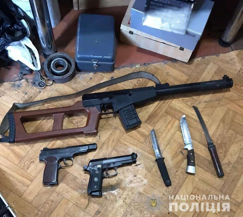 Поліція викрила діяльність підпільного збройного цеху на Рівненщині