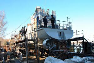 МСЗ завершує капітальний ремонт десантного катеру «Сватове»