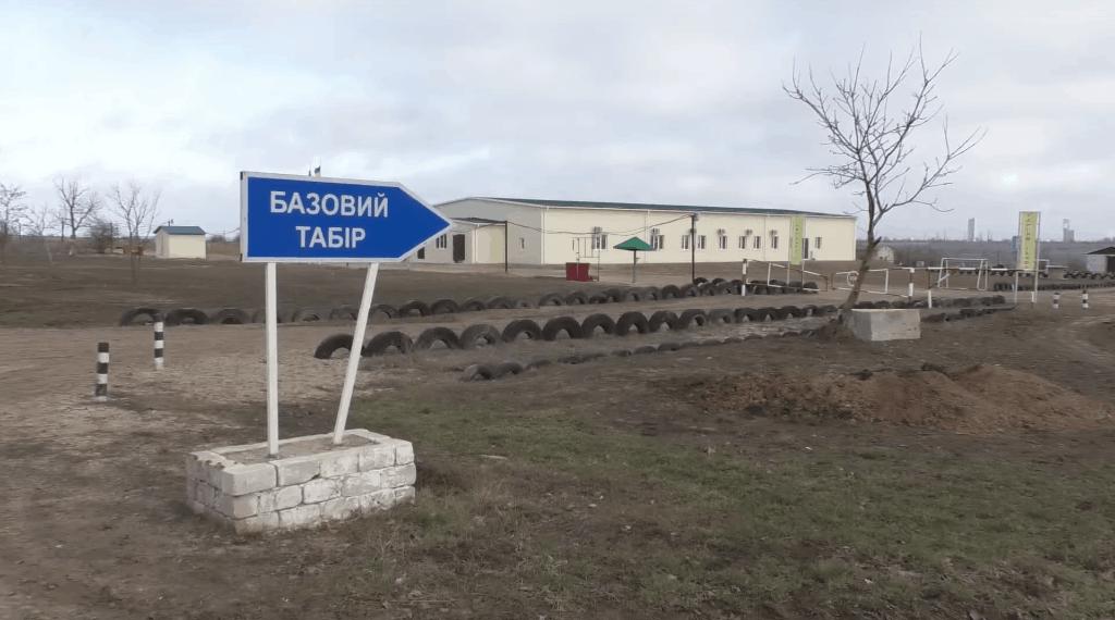Нова казарма на військовому полігоні біля Одеси