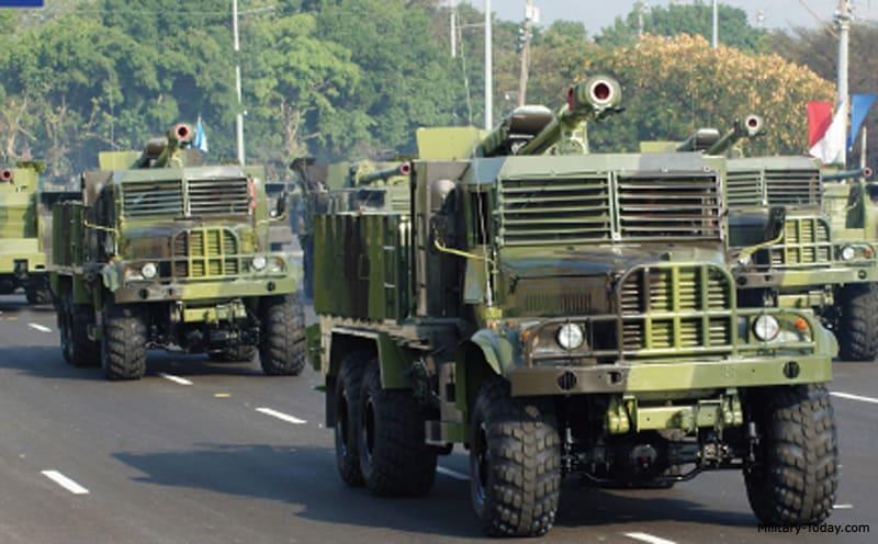 122-мм САУ Jupiter III на шасі КрАЗ