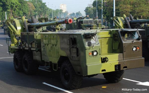 122-мм САУ Jupiter IV на шасі КрАЗ