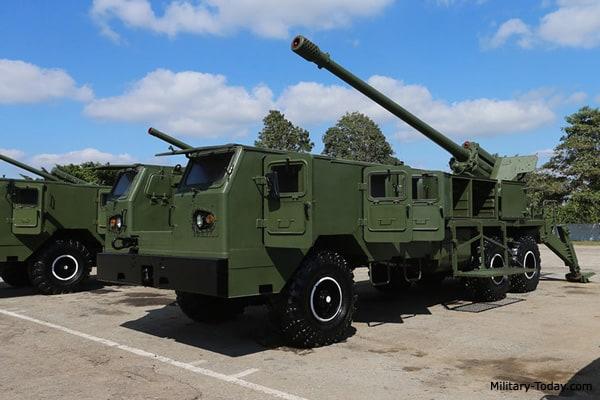 122-мм САУ Jupiter V на шасі КрАЗ