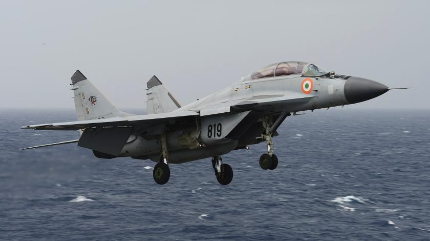 Палубний винищувач МіГ-29К ВМС Індії