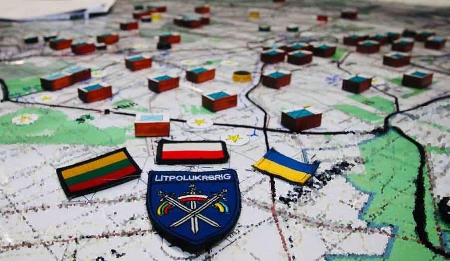 Литовсько-польсько-українське тренування військових «Brave Band»