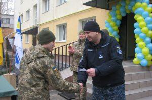 В Миколаєві військовослужбовці ВМС отримали штатно-посадове житло