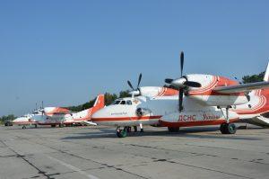 ДСНС модернізує зв'язок на пожежних Ан-32П