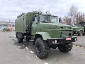 До ЗСУ переданий броньований кузов-фургон на шасі КрАЗ-5233НЕ