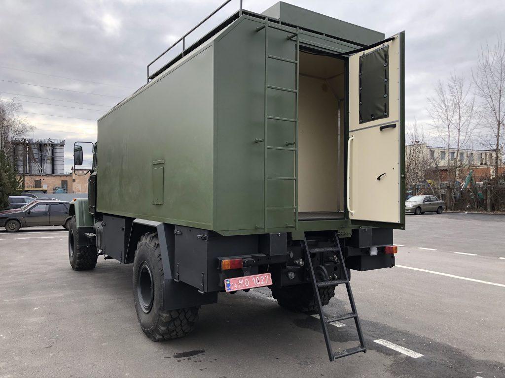 Кузов-фургон на шасі КрАЗ-5233НЕ
