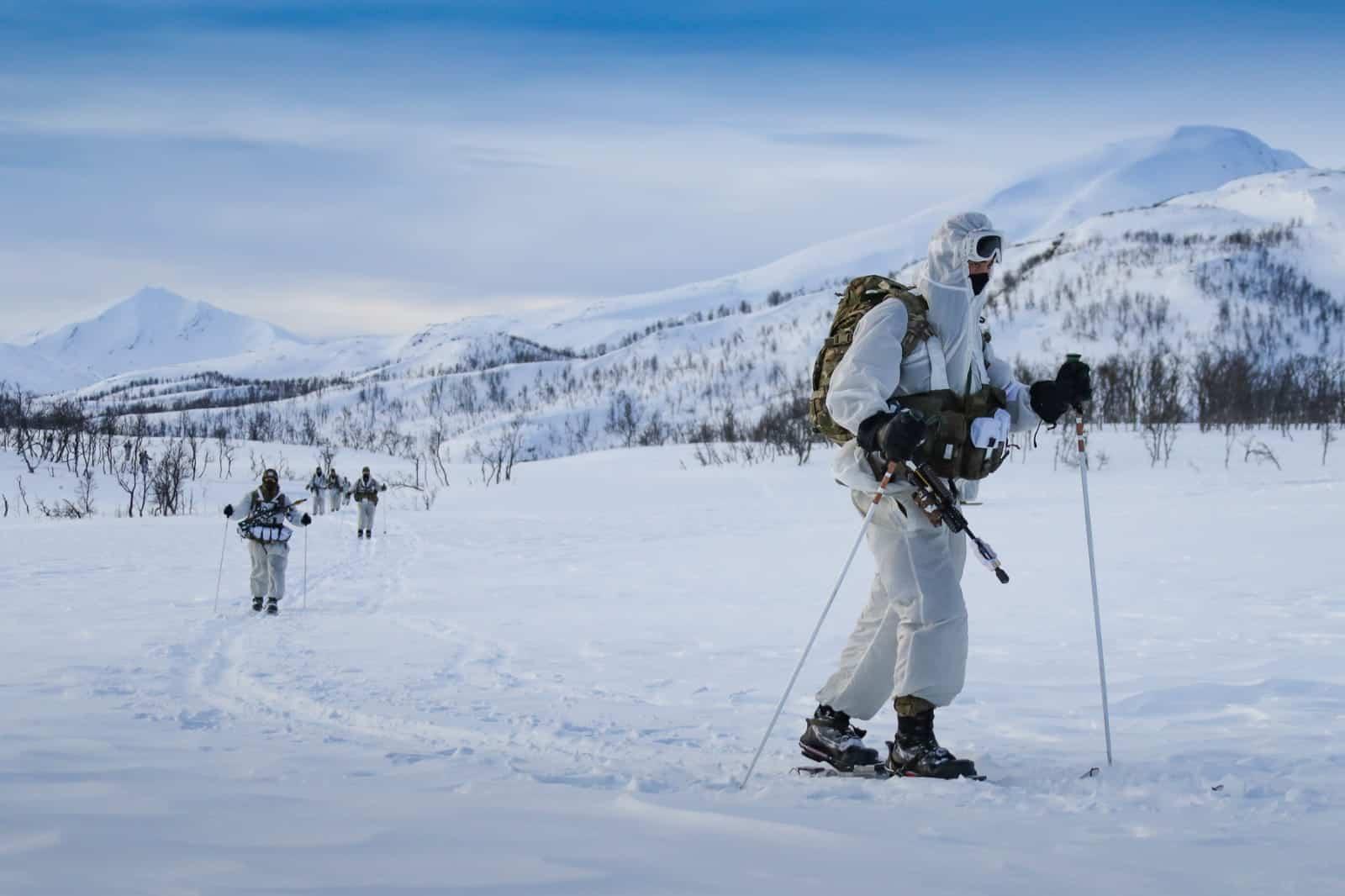 Морські піхотинці Великої Британії у Норвегії