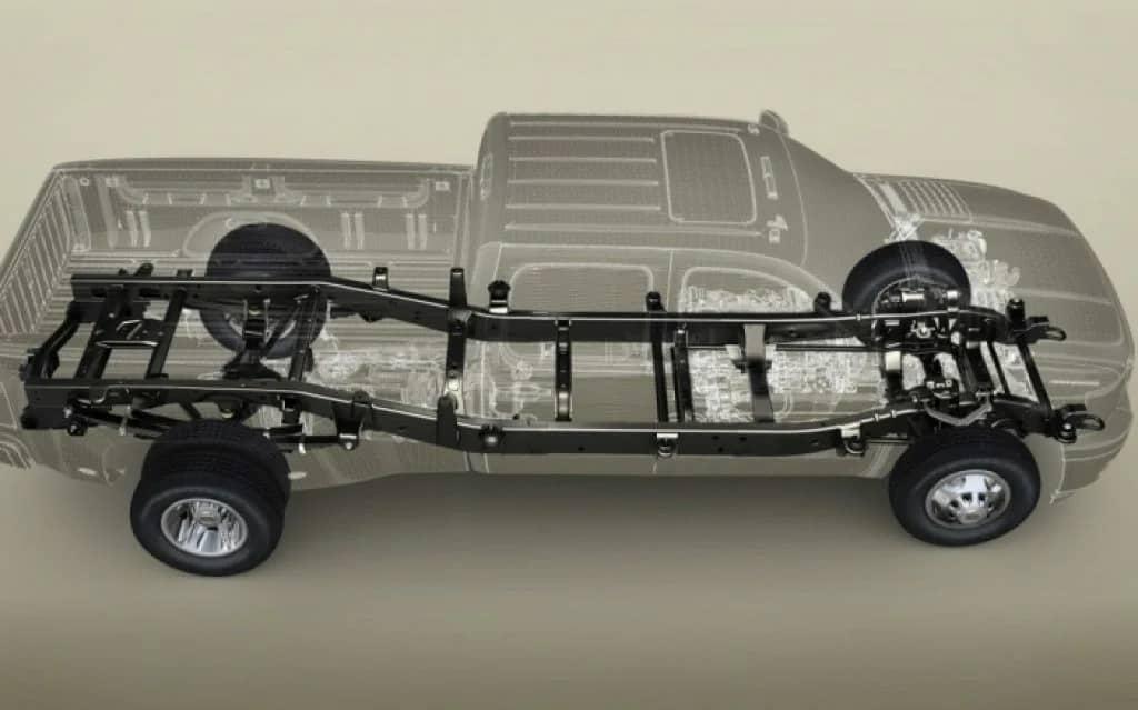 Несуча рама автомобіля Chevrolet Silverado Heavy Duty