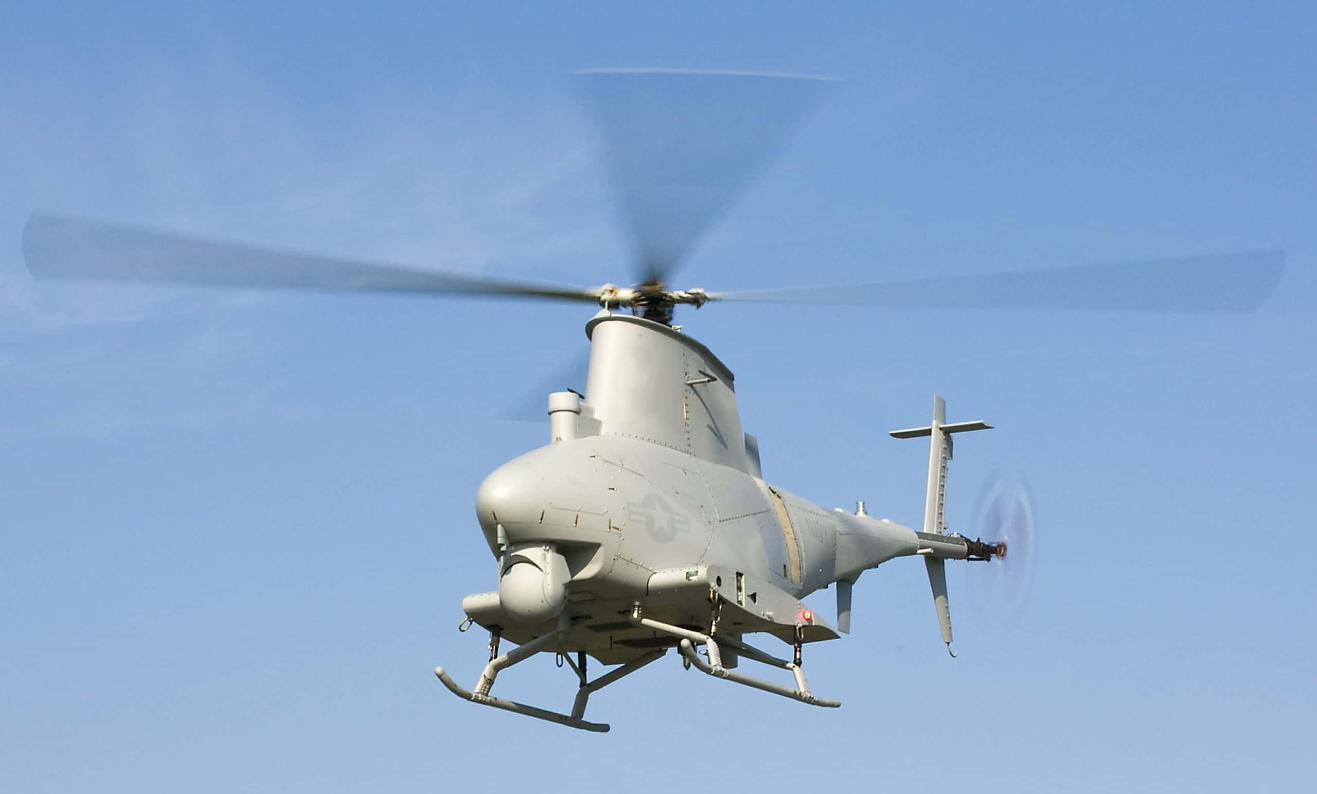 Northrop Grumman MQ-8 Fire Scout — база для лазерної системи сканування приповерхневих вод
