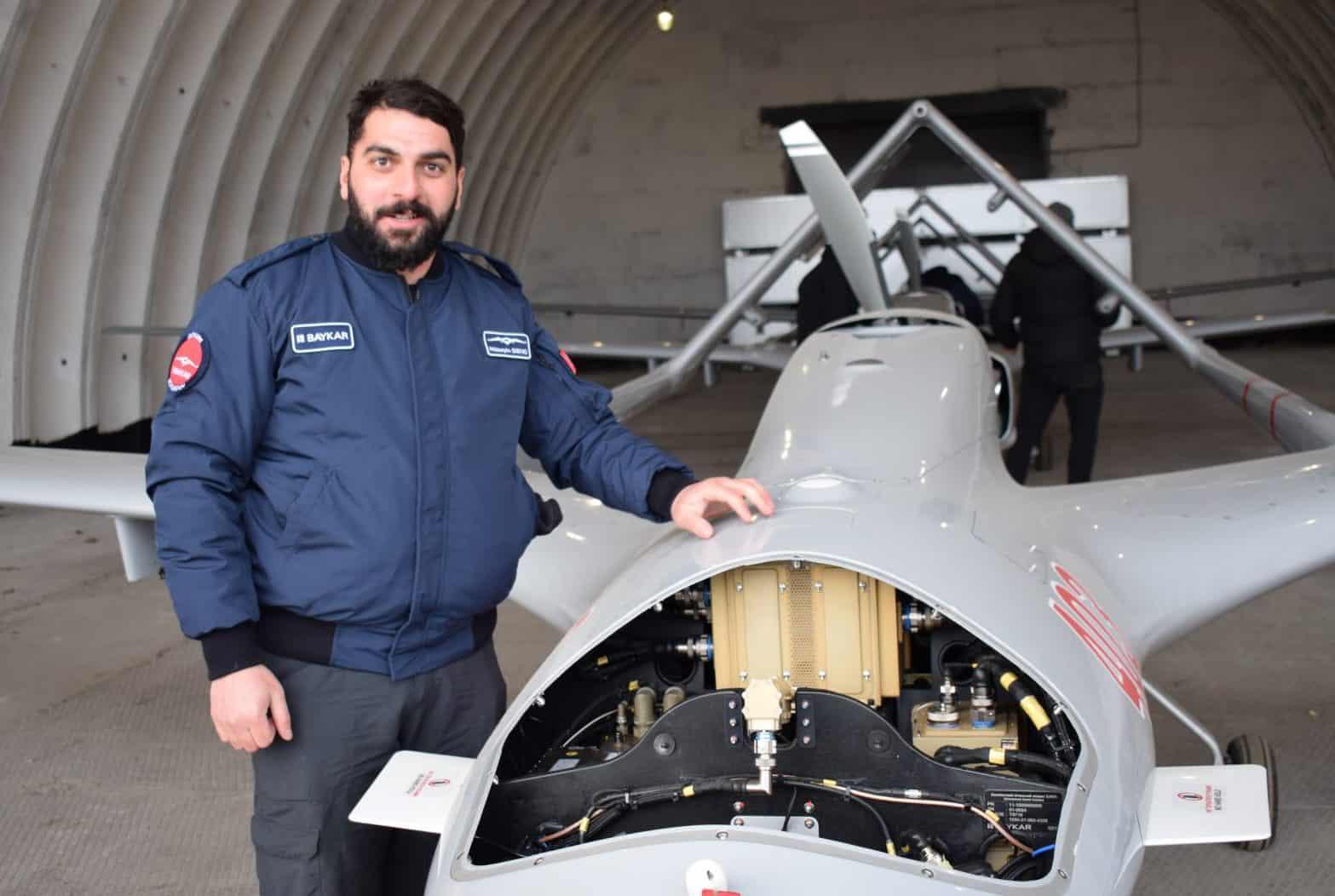 Один з турецьких фахівців по БПЛА Bayraktar TB2 в Україні