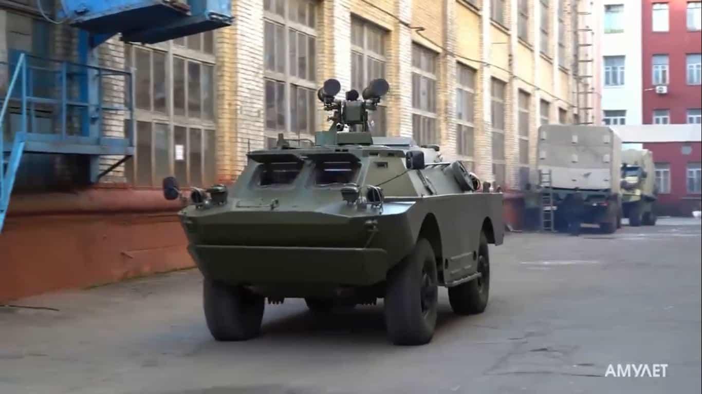 ПТРК «Амулет» на шасі БРДМ-2