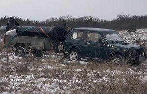 На Луганщині місцевий намагався вивезти кіль Мі-24 в Росію