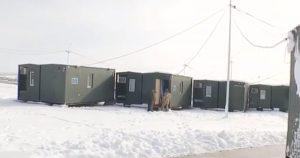 ДССТ побудували поблизу фронту модульне містечко для військових