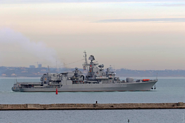 Перший у 2020 році вихід в море фрегату «Гетьман Сагайдачний» (F130) 1
