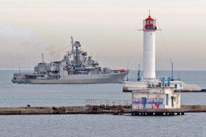 Флагман ВМС вперше у 2020 вийшов у море