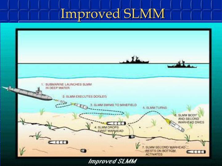 Постановка двох мін в різних точках дна за допомогою ISLMM