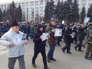 В Молдові протестують ветерани війни з Росією