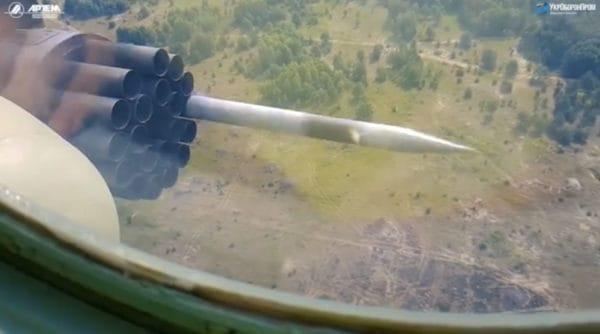 Вітчизняні некеровані ракети РС-80 прийнято на озброєння ЗСУ