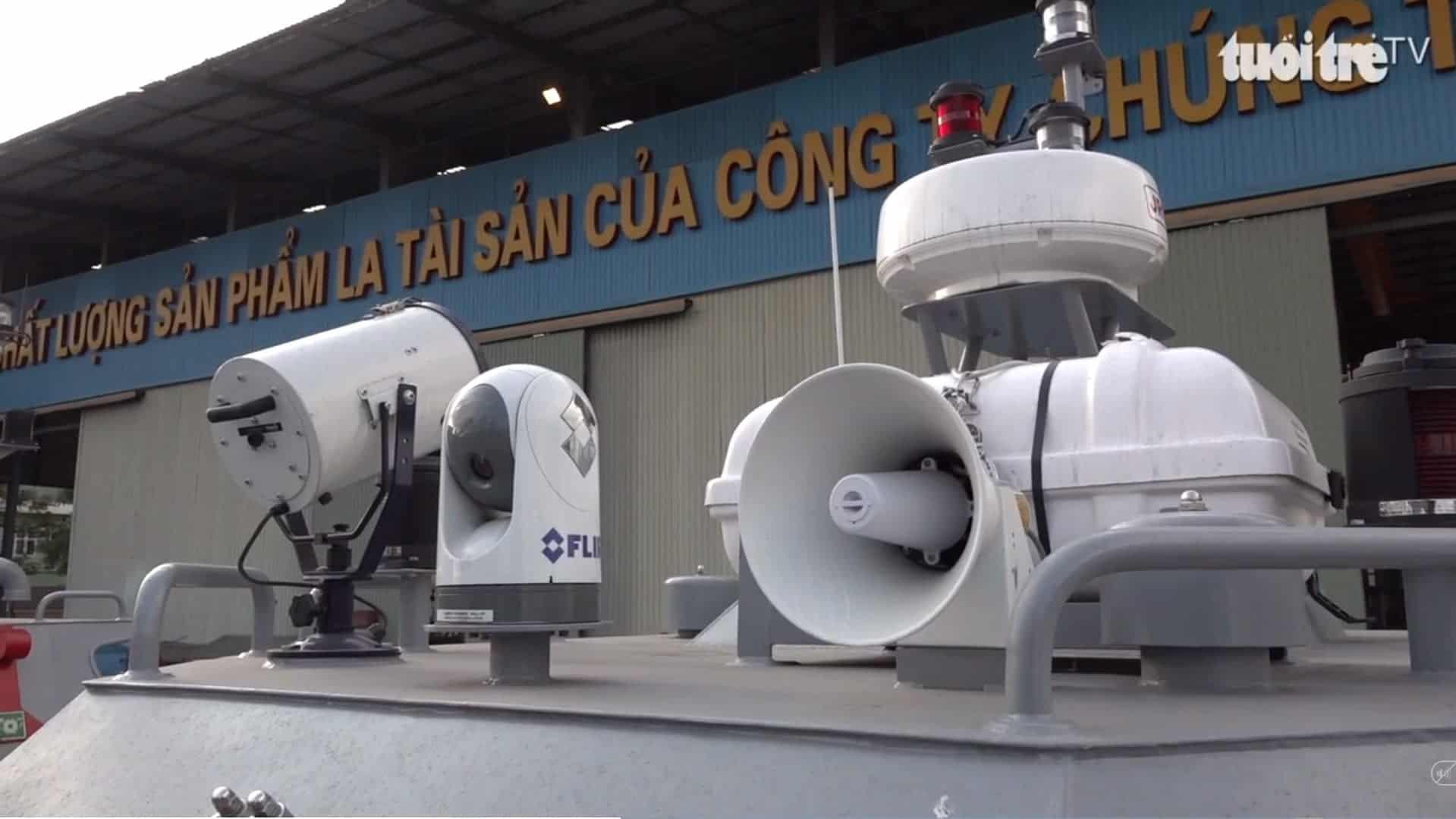 Радіотехнічне обладнання швидкісних патрульних катерів виготовлених у В'єтнамі для однієї з африканських країн