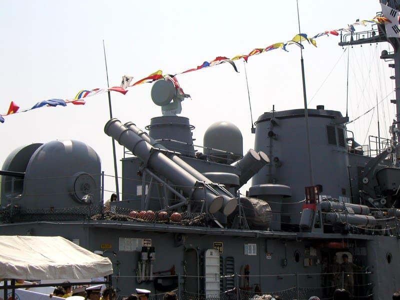 Ракетне та торпедне озброєння ROKS Iksan (PCC-767)