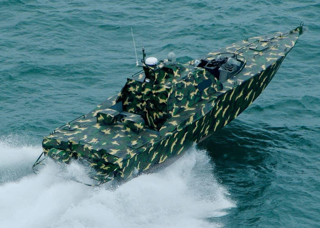 Швидкісний патрульний катер D300