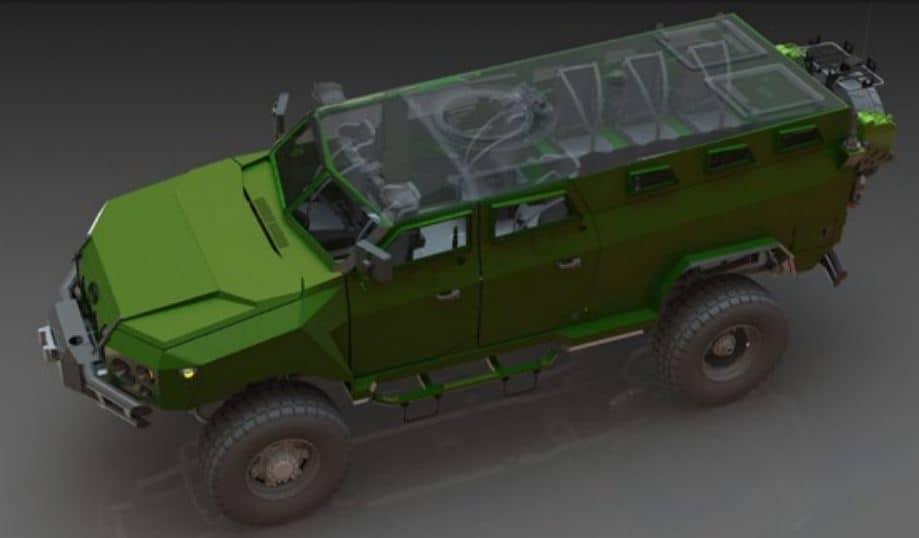 Спеціальний броньований автомобіль «КАМРАТ» 1