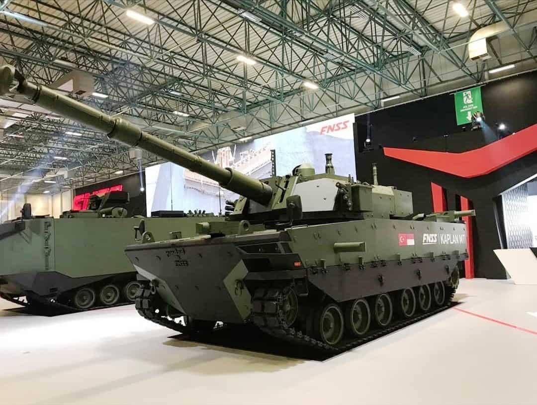 В Туреччині запущено виробництво танків Kaplan MT