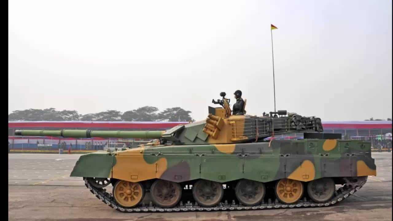 Танк MBT-2000
