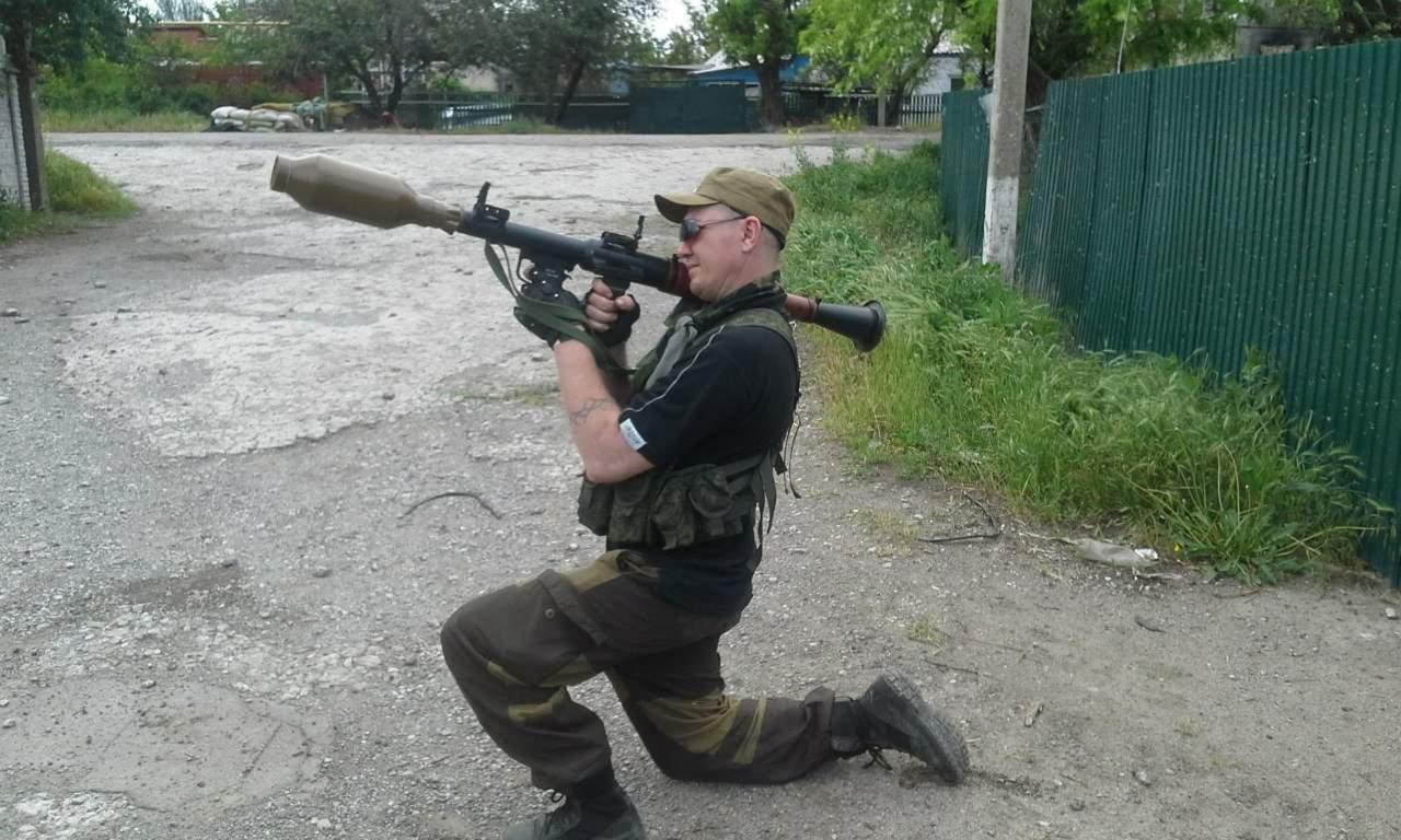 Термобаричний заряд ТБГ-7В до РПГ-7 у бойовика російсько-терористичних військ 1