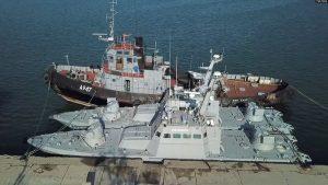 Керченська криза: повернуті кораблі до літа вийдуть у море