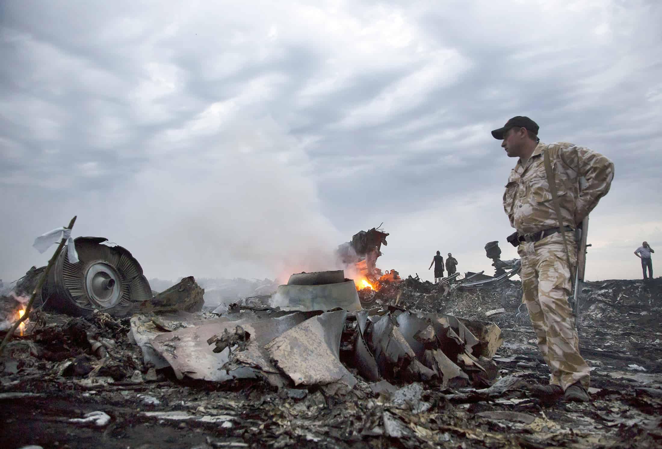 Уламки літака Boeing рейсу MH17