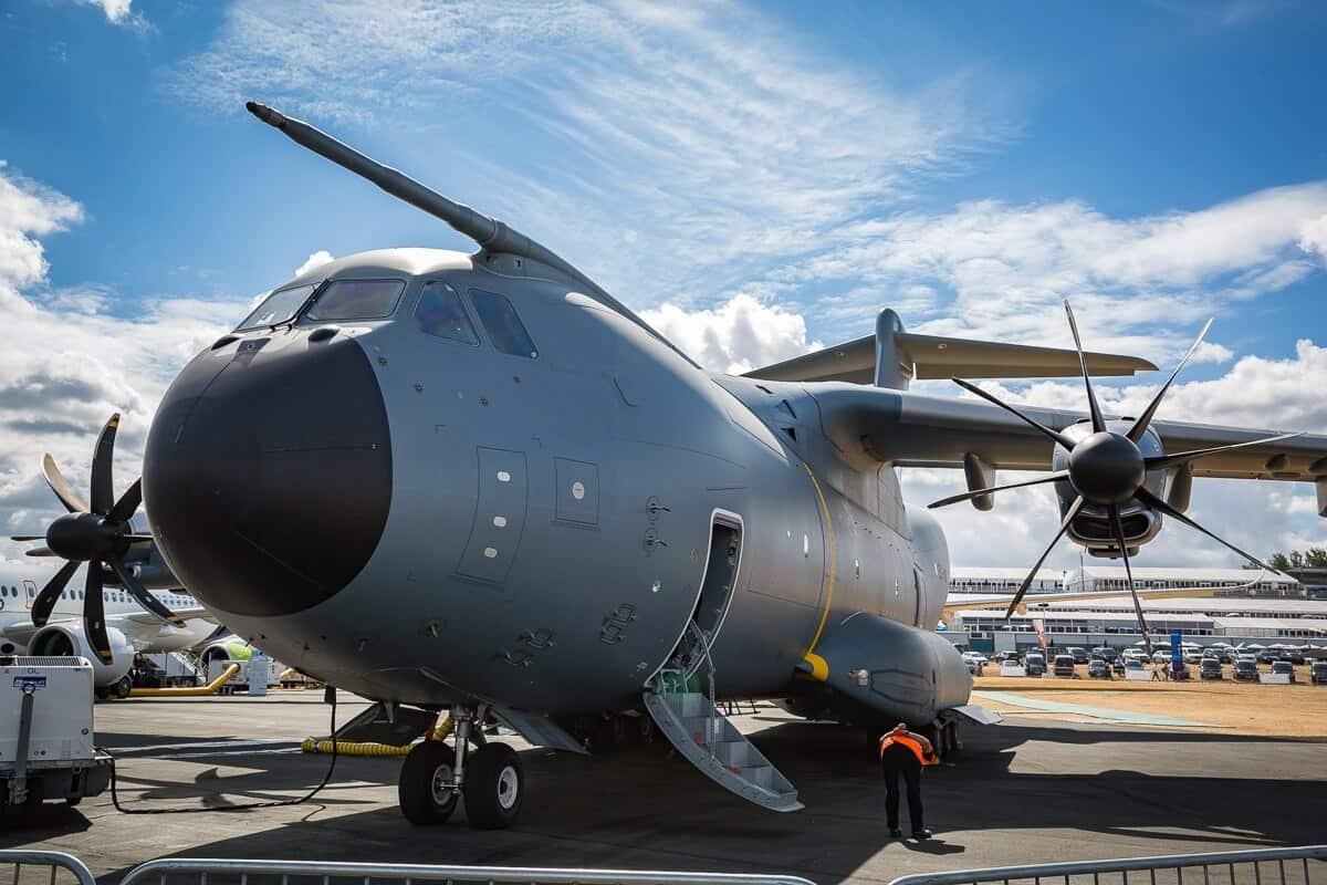 Військово-транспортний літак Airbus A400
