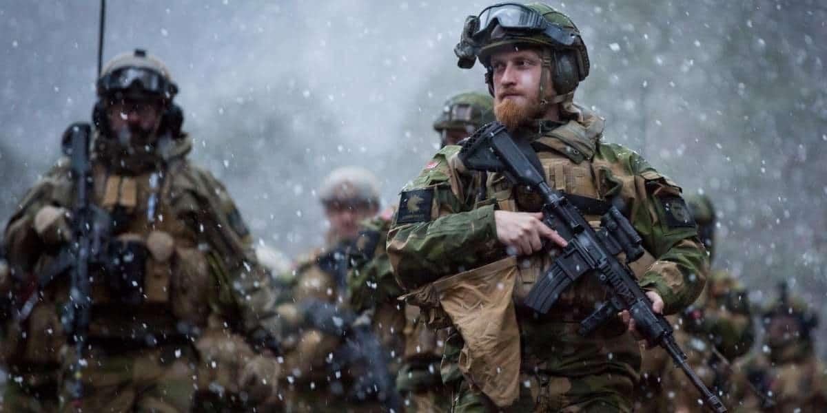 Військовослужбовці ЗС Норвегії