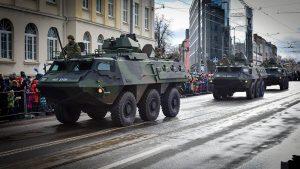 В Естонії показали всі військові паради з відновлення Незалежності